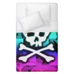 Rainbow Skull Duvet Cover (Single Size)