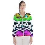 Rainbow Skull Women s Windbreaker