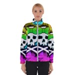 Rainbow Skull Winter Jacket