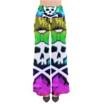 Rainbow Skull So Vintage Palazzo Pants