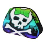 Rainbow Skull Full Print Accessory Pouch (Small)