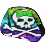 Rainbow Skull Full Print Accessory Pouch (Big)