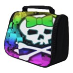 Rainbow Skull Full Print Travel Pouch (Small)