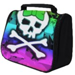 Rainbow Skull Full Print Travel Pouch (Big)
