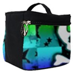 Rainbow Skull Make Up Travel Bag (Small)