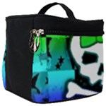 Rainbow Skull Make Up Travel Bag (Big)