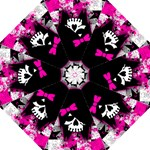 Scene Kid Girl Skull Folding Umbrella
