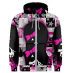 Scene Kid Girl Skull Men s Zipper Hoodie