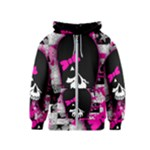 Scene Kid Girl Skull Kids  Zipper Hoodie