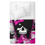 Scene Kid Girl Skull Duvet Cover (Single Size)