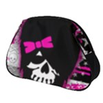 Scene Kid Girl Skull Full Print Accessory Pouch (Small)