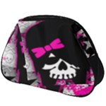 Scene Kid Girl Skull Full Print Accessory Pouch (Big)