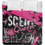Scene Queen Duvet Cover Double Side (King Size)