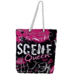 Scene Queen Full Print Rope Handle Tote (Large)