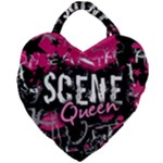 Scene Queen Giant Heart Shaped Tote