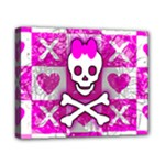 Skull Princess Canvas 10  x 8  (Stretched)