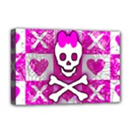 Skull Princess Deluxe Canvas 18  x 12  (Stretched)