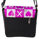 Skull Princess Flap Closure Messenger Bag (S)