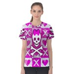 Skull Princess Women s Cotton Tee
