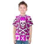 Skull Princess Kids  Cotton Tee