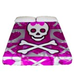 Skull Princess Fitted Sheet (Queen Size)