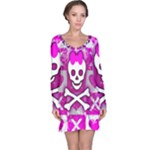 Skull Princess Long Sleeve Nightdress