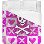 Skull Princess Duvet Cover (King Size)