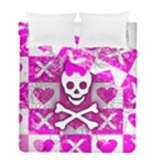 Skull Princess Duvet Cover Double Side (Full/ Double Size)