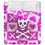 Skull Princess Duvet Cover Double Side (California King Size)