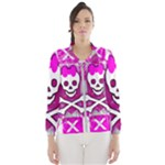 Skull Princess Women s Windbreaker