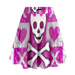 Skull Princess High Waist Skirt