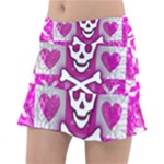 Skull Princess Tennis Skirt