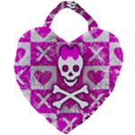 Skull Princess Giant Heart Shaped Tote