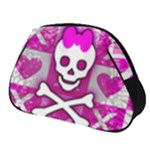 Skull Princess Full Print Accessory Pouch (Small)