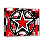 Star Checkerboard Splatter Deluxe Canvas 14  x 11  (Stretched)