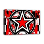 Star Checkerboard Splatter Deluxe Canvas 18  x 12  (Stretched)