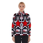 Star Checkerboard Splatter Winter Jacket