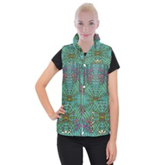 The Most Beautiful Rain Over The Stars And Earth Women s Button Up Vest by pepitasart