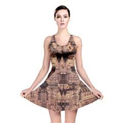 Fractals Abstraction Tla Designs Reversible Skater Dress