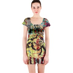 Little Bird Short Sleeve Bodycon Dress