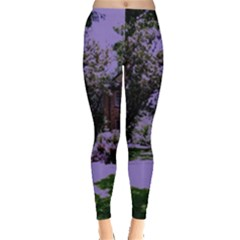 Hot Day In Dallas 4 Leggings  by bestdesignintheworld