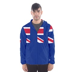 Government Ensign Of The British Antarctic Territory Men s Hooded Windbreaker by abbeyz71
