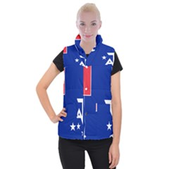Flag Of The French Southern And Antarctic Lands, 1958 Women s Button Up Vest