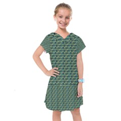 Stamping Heart Love Kids  Drop Waist Dress by Bajindul