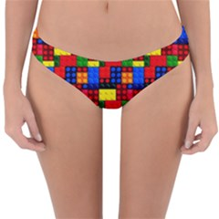 Colorful 59 Reversible Hipster Bikini Bottoms by ArtworkByPatrick