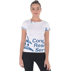 Logo Of Congressional Research Service Short Sleeve Sports Top  by abbeyz71