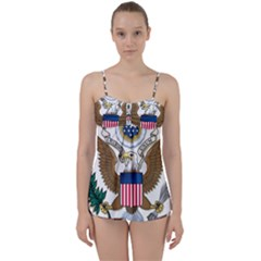 Seal Of United States District Court For District Of Arizona Babydoll Tankini Set by abbeyz71