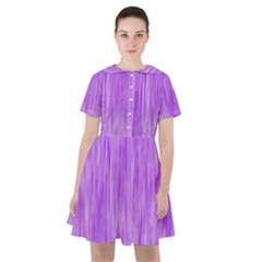 Purple Lavender Splash Sailor Dress by retrotoomoderndesigns