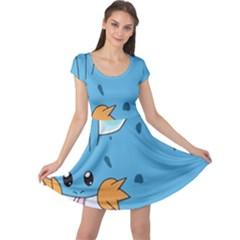 Patokip Cap Sleeve Dress