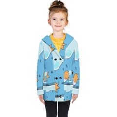 Patokip Kids  Double Breasted Button Coat by MuddyGamin9